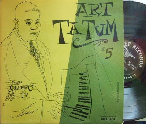【米Clef mono】Art Tatum/The Genius of Art Tatum #5