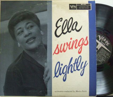 【米Verve mono】Ella Fitzgerald/Ella Swings Lightly (Marty Paich)