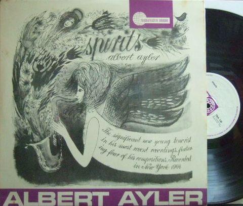 【英Transatlantic mono】Albert Ayler/Spirits
