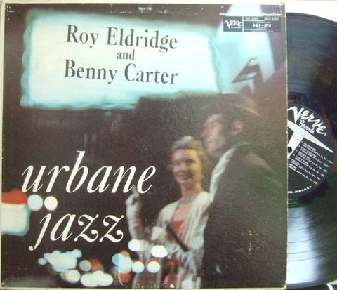 【米Verve mono】Roy Eldridge and Benny Carter/The Urbane Jazz