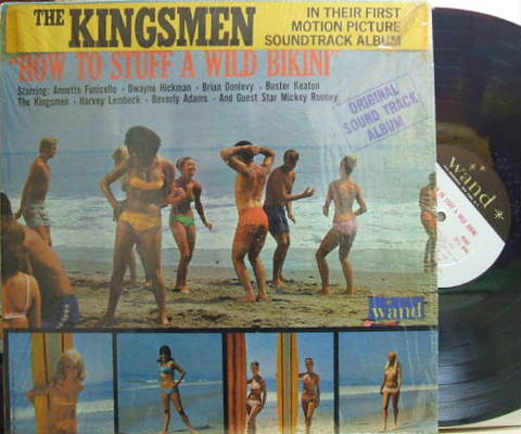 【米Wand mono】The Kingsmen, Annette, Lu Ann Simms, etc/How To Stuff A Wild Bikini