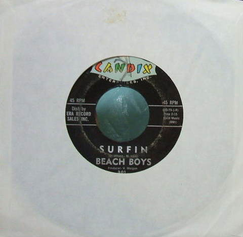 【米Candix mono】Beach Boys/Surfin' (7' 45rpm)