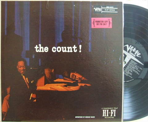【米Verve mono】Count Basie/The Count!