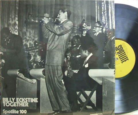 【英Spotlite mono】Billy Eckstine/Together (Fats Navarro, Gene Ammons, etc)