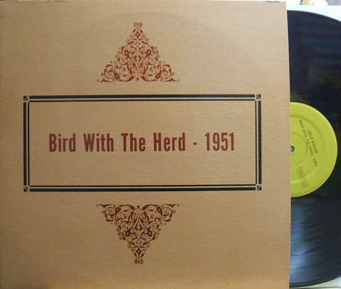 【米Alamac mono】Charlie Parker/Bird With The Herd