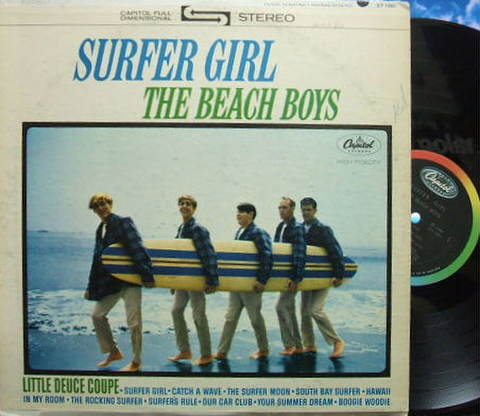 【米Capitol】The Beach Boys/Surfer Girl