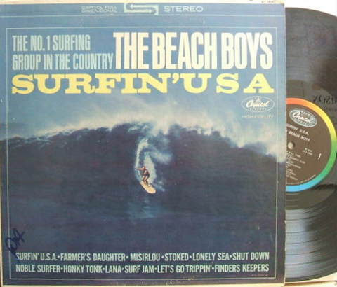 【米Capitol】The Beach Boys/Surfin' USA