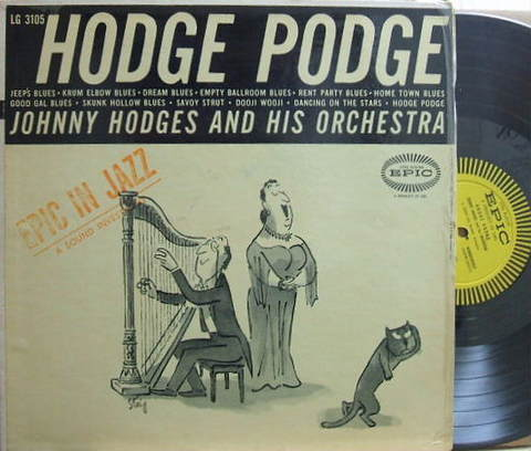 【米Epic mono】Johnny Hodges/Hodge Podge