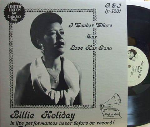 【米Giants of Jazz mono】Billie Holiday/I Wonder Where Our Love Has Gone