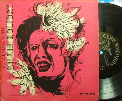 【米Clef mono】Billie Holiday/An Evening with Billie Holiday