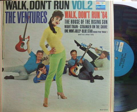【米Dolton mono】The Ventures/Walk, Don't Run Vol.2 (Nokie Edwards, lead g)