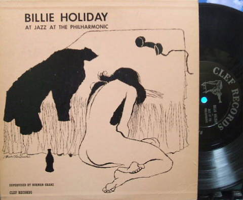 【米Clef mono】Billie Holiday/At The Jazz At The Philharmonic