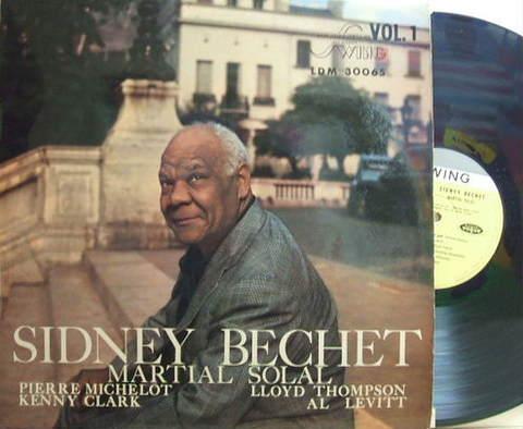 【仏Swing mono】Sidney Bechet/Martial Solal