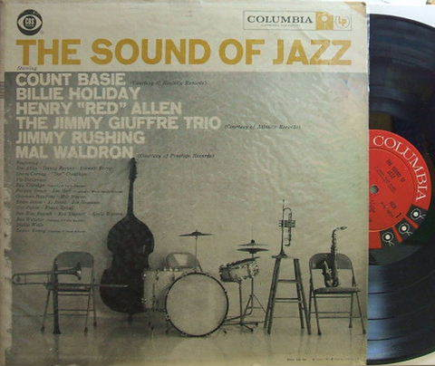 【米Columbia mono】Billie Holiday, Count Basie, Mal Waldron, Jim Hall, Coleman Hawkins, Lester Young, etc/The Sound of Jazz