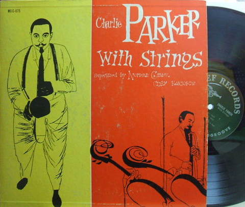 【米Clef mono】Charlie Parker/with Strings