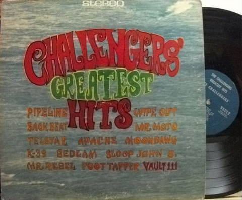 【米Vault】Challengers/Greatest Hits
