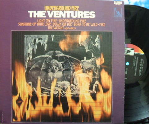 【米Liberty】The Ventures/Underground Fire