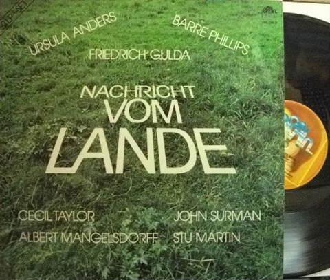 【独Brain】Friedrich Gulda/Nachricht Vom Lande (Cecil Taylor, John Surman, etc) 2LP