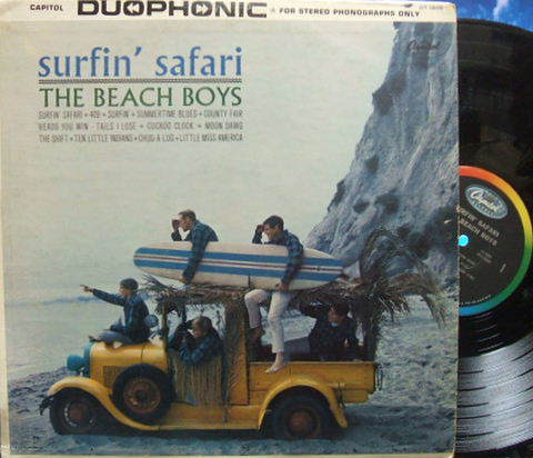 【米Capitol】Beach Boys/Surfin' Safari