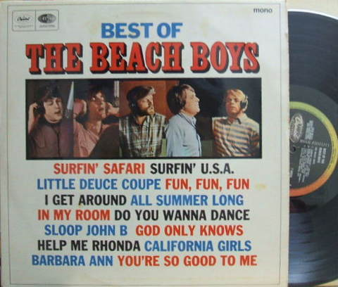 【英Capitol mono】Beach Boys/Best of Beach Boys