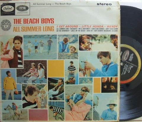 【英Capitol】The Beach Boys/All Summer Long