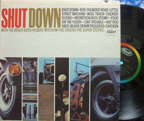 【米Capitol mono】The Beach Boys, etc/Shut Down