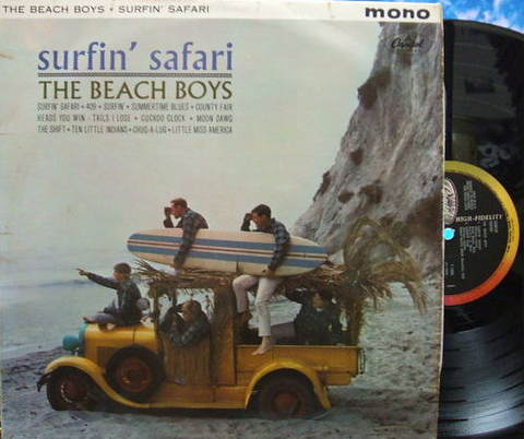【英Capitol mono】The Beach Boys/Surfin' Safari