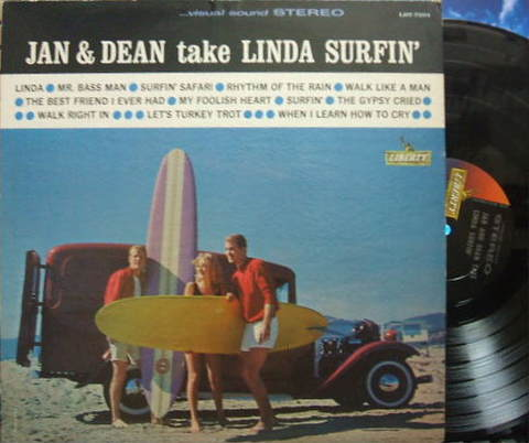 【米Liberty】Jan & Dean/Take Linda Surfin'