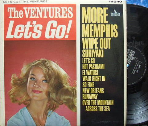 【英Liberty mono】The Ventures/Let's Go!