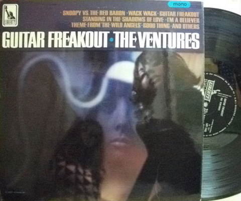 【英Liberty mono】The Ventures/Guitar Freakout
