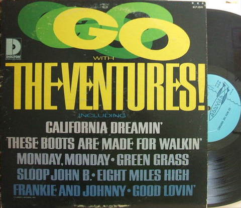 【加Dolton mono】The Ventures/Go With The Ventures