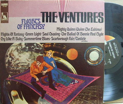 【米Liberty】The Ventures/Flights of Fantasy