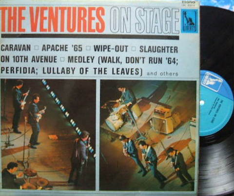 【英Liberty mono】The Ventures/On Stage