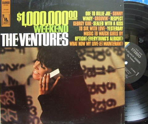 【米Liberty】The Ventures/$1,000,000.00 Weekend