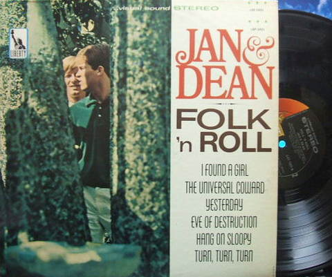 【米Liberty】Jan & Dean/Folk 'n Roll