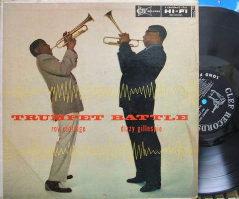 【米Clef mono】Roy Eldridge-Dizzy Gillespie/Trumpet Battle