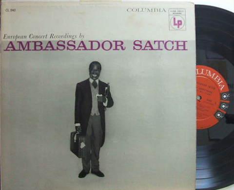 【米Columbia mono】Louis Armstrong/Ambassador Satch