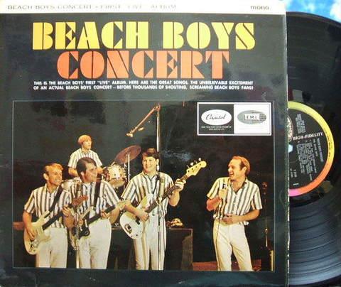 【英Capitol mono】Beach Boys/Concert