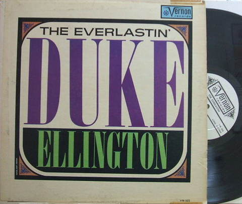 【米Vernon mono】Duke Ellington/The Everlastin'