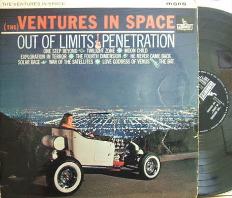 【英Liberty mono】The Ventures/In Space