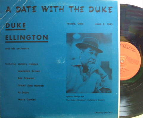 【仏Caracol mono】Duke Ellington/A Date With The Duke