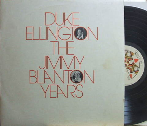【伊Queen-Disc mono】Duke Ellington/The Jimmy Blanton Years