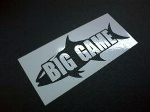 BIGGAME・オリジナルステッカー/MINIサイズ