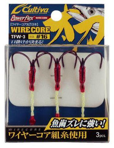 【WS特価】オーナー ワイヤーコア太刀3本 / 3size