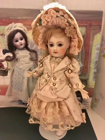 ドレス&ボネ~*ミレットサイズ約27cm(FB8)・オールビスク 約27cm