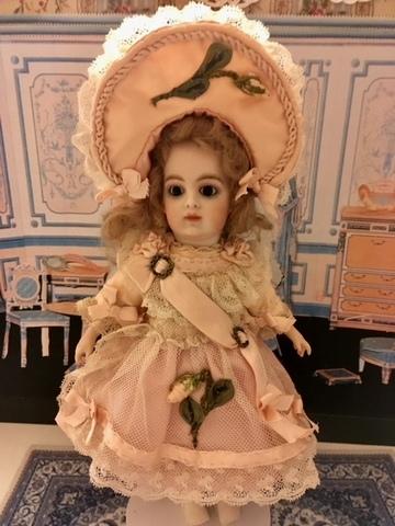 プチサイズ リボンワークのドレス~* ピンク