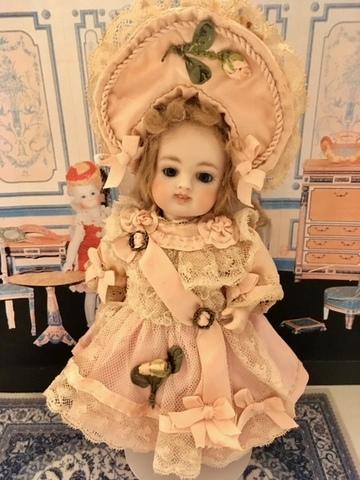 レスラーちゃん リボンワークのネットドレス~* ピンク