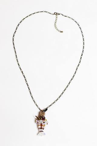 山鳩のパフェネックレス
