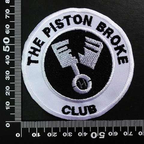 The Piston Broke ワッペン パッチ 02019