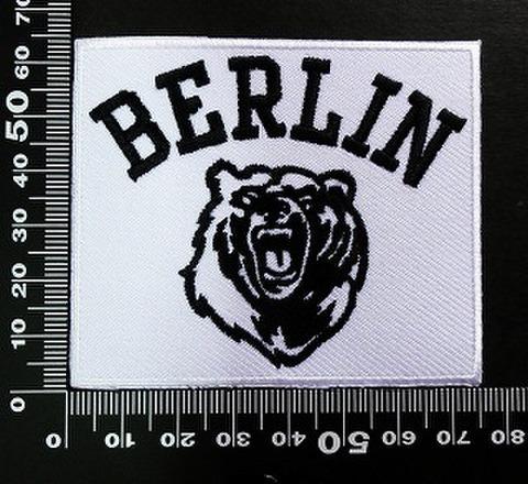 ベルリン Berlin ワッペン パッチ 02014
